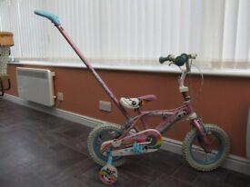 Panda Pals Pink childs bicycle