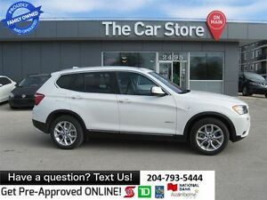 2013 BMW X3 xDrive28i - leather, SUNROOF, FULLY LOADED