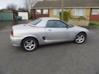 Mgf 1800 vvc complete with hardtop and massive service history Mg Tf Mgtf