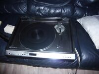 sharp fully automatic turntable good condition £50