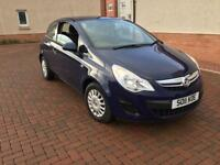 May px 11plate only 47000 miles Vauxhall corsa 1ltr petrol 3 door drives great bargain