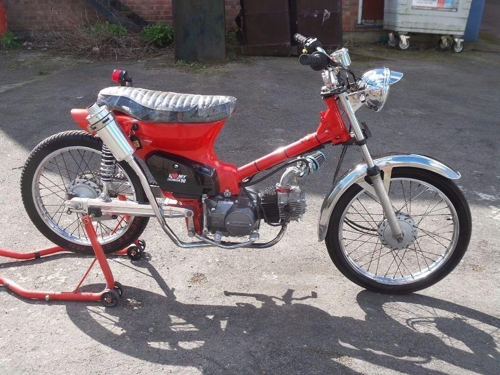 classic 1984 honda c50 cub 50cc moped fully rebuilt. Black Bedroom Furniture Sets. Home Design Ideas