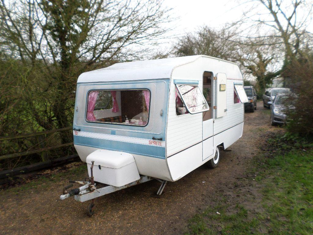 caravan vintage sprite