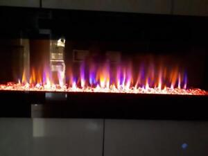Crystal Fireplace 50'' Built-IN **Best Deal in Canada!!!**