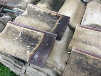 1200+ Roof Tiles, were Brown, now very 'sun parched'. Similar to Marley Anglia