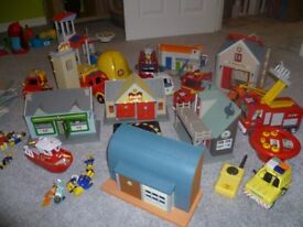 Collection of used childrens Toys Fireman Sam