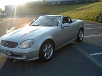 MERCEDES SLK SPORTS AUTO 62K FSH STUNNING ORIGINAL CONDITION FIRST TO SEE WILL BUY NO BETTER ABOUT