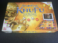 ATMOSFEAR - KHUFU The Mummy DVD Board Game. Unused.