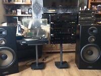 PIONEER REFERENCE STEREO SET UP