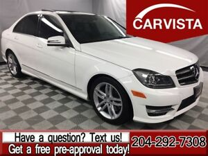 2014 Mercedes-Benz C-Class C300 4MATIC -PANORAMIC ROOF/XENONS/NO