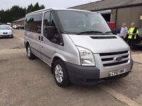 2010 Ford Transit Tourneo 9 Seater Silver
