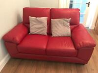 2 Seated Leather Sofa/couch