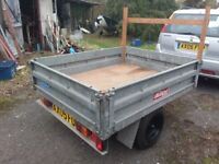 Strong Galvanised Trailer
