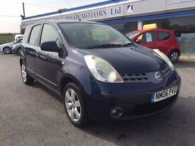 2006 NISSAN NOTE 1.6 PETROL 16V 5dr MANUAL BLUE