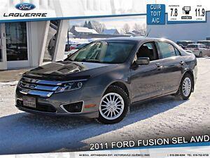 2011 Ford Fusion **SEL*3.0L*AWD*CUIR*TOIT* CRUISE*A/C**