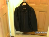 Black Leather Jacket Size S Ventiuno