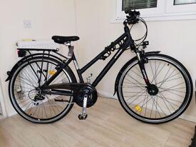 "BTWIN HOPRIDER 520 Hybrid ""Trekking Bike"" – NEW (Never Used), High Spec, Unwanted Gift"