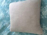 Brand new cream cushions, set of 4