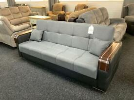 Sale no on 3 seater fabric sofa bed must go only £299