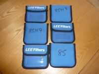 6 x Lee filter pouches