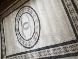 New Beige 120x160cm sparkly rug