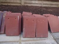 Various Roof Tiles Redland Rustic Red and Terracotta colour