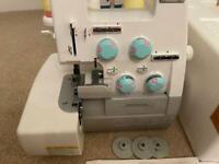 Toyota overlock sewing machine