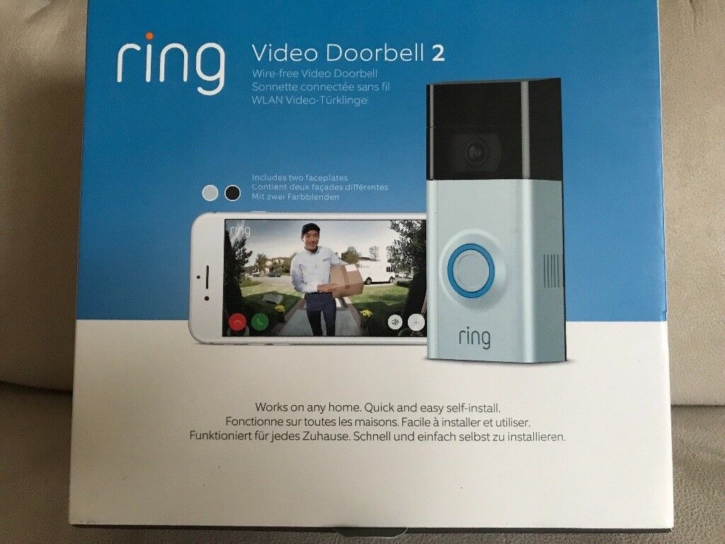 ae05060b22f Ring Video Doorbell 2 - Motion Video 2-Way Talk Security Camera Wire Free  RRP £179