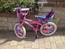Childs Princess Bike