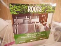 ROOTS twin bedding~~Sears~~