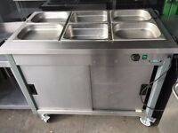 CATERING COMMERCIAL BAIN MARIE UNDER HOT CUPBOARD CAFE KEBAB CHICKEN RESTAURANT FAST FOOD TAKE AWAY