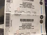 2 John legend tickets Manchester