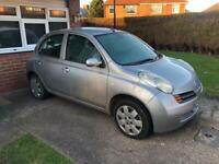 Nissan Micra Automatic only 47K driven 9 months MOT