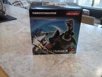 Thrustmaster T.Flight H.O.T.A.S Flight Sim Stick and Throttle