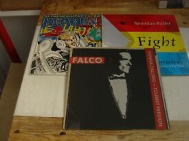3 VARIOUS 12 INCH SINGLES £4 THE LOT