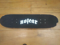 No fear skate board