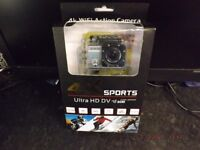 4K SPORTS ULTRA HD WIFI 30M WATER RESISTANT ACTION CAMERA