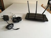 TP-LINK TD-W9980 N600 Wireless Dual Band Gigabit VDSL2/ADSL2+ Modem Router