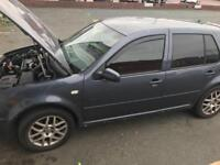 VW Golf GT TDi MK4 PD150 Spares or Repair - COMPLETE CAR ONLY