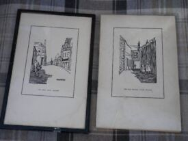 2 old prints of Selkirk