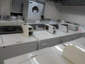 Coin operated washers / Laveuses payante