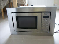 NEFF Integrated microwave oven