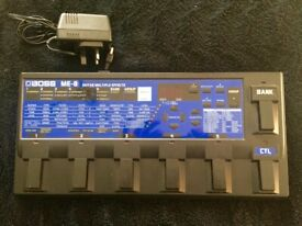 Vintage Boss ME-8 multi effects analog guitar pedal for sale