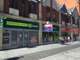 Superior Ground Floor Shop To Let On Market Street in Prime Location in Leicester City Centre
