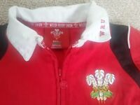 Boys Wales Rugby Shirt Age 7/8 Years