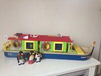 Sylvanian canal boat