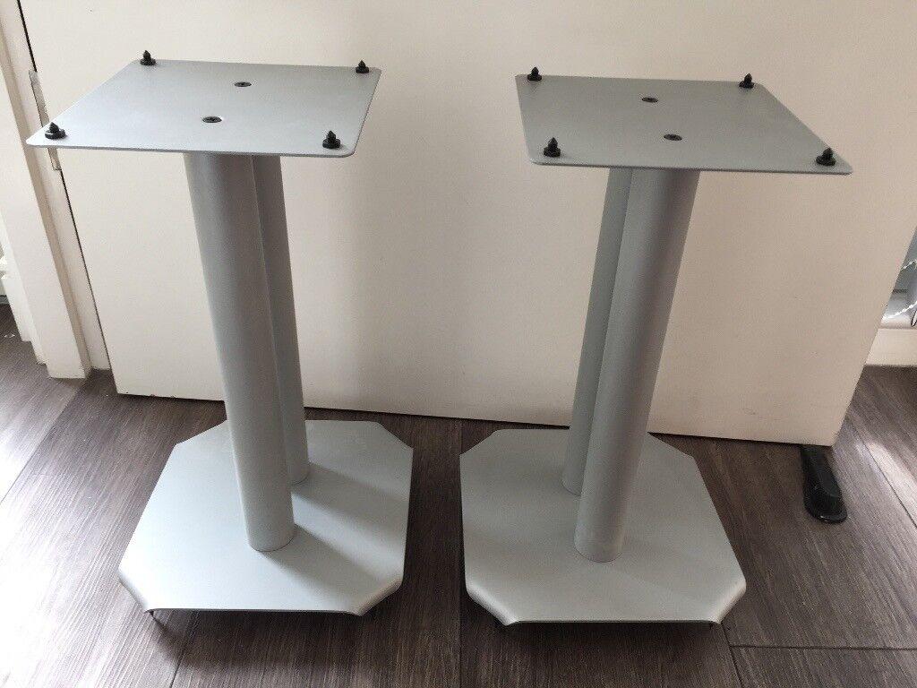 Atlas BT604 Speaker stand (mint condition - steel grey)
