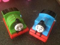 2 x thomas the tank engine and friends toys new with tags