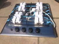 Stainless Steel Gas Hob brand new in box