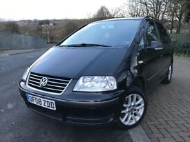 2008 Volkswagen Sharan se 1.9 tdi, 115bhp, 2 keys, well maintained, drives and runs great